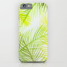 Painted Palm Fronds iPhone 6s Slim Case