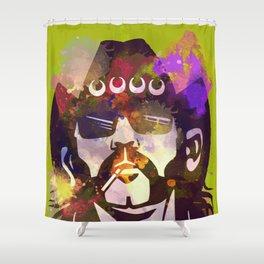 Lemmy- MOTORHEAD Shower Curtain