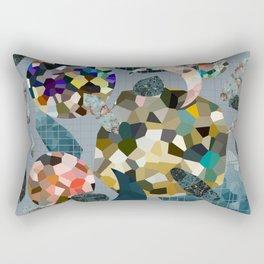 Gemstone Space Moon Rectangular Pillow