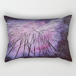 Galaxy, watercolor Rectangular Pillow