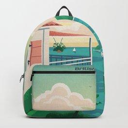 Jost Van Dyke Canvas Print Backpack