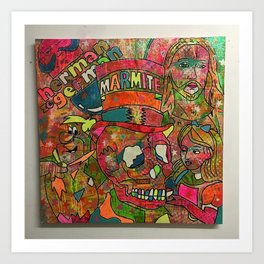 Punk To Funk by Barrie J Davies 2015 Art Print