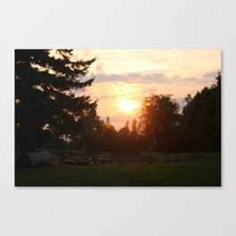 Sunset2 Canvas Print
