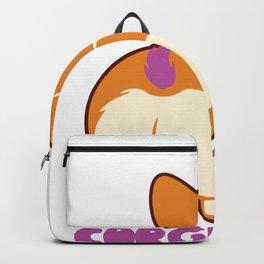 Corgicorn Funny Corgi Unicorn Dog design Great Whelp Gift Backpack