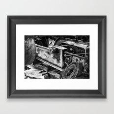 Machined Dream 01 Framed Art Print