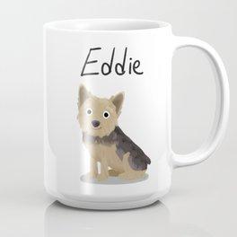 "Custom ""Eddie"" Dog Coffee Mug"