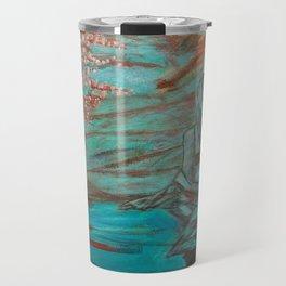 Wading Woman Travel Mug