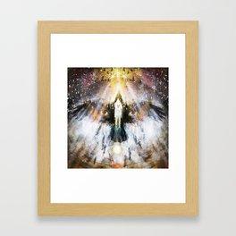 Feorthfaru - spirit fight Framed Art Print
