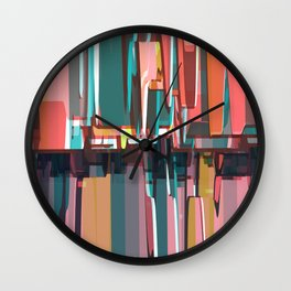 Abstract Composition 639 Wall Clock