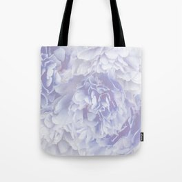 Flower Bouquet In Pastel Blue Color - #society6 #buyart Tote Bag