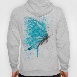 Aqua Butterfly Hoody