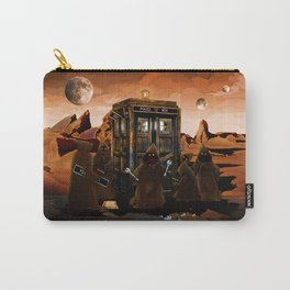 The jawas find sparepart from tardis iPhone 4 4s 5 5c 6, pillow case, mugs and tshirt Carry-All Pouch