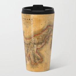 Map of Panama 1864 Travel Mug