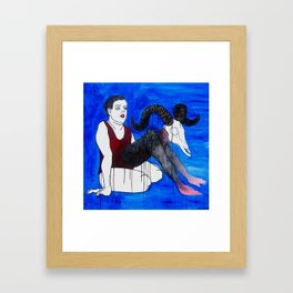 Dreaming I Framed Art Print