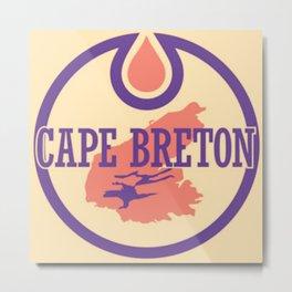 CAPE BRETON OILERS Metal Print