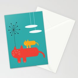 Mother & son Stationery Cards