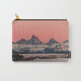 SUNSET AT THE GRAND TETONS Carry-All Pouch