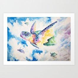 Skyward Art Print