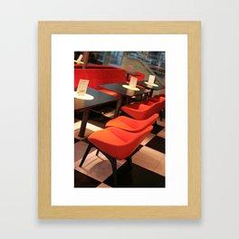 Lounge Framed Art Print
