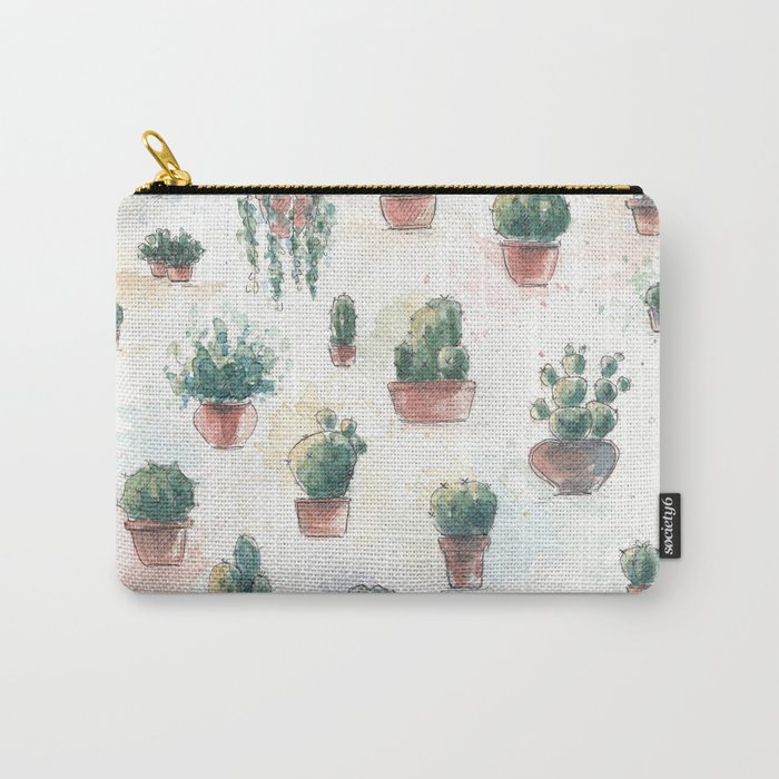 Cacti nd succulents Carry-All Pouch
