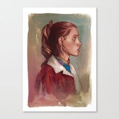 NANCY WHEELER Canvas Print