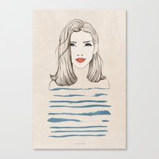 Sea girl Canvas Print