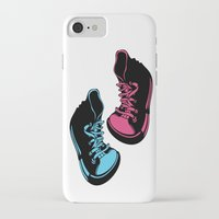 sneakers iPhone & iPod Cases featuring Sneakers by Cindys