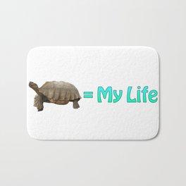 My Sulcata = My Life Bath Mat