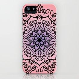 Baesic Sunset Traquil Mandala iPhone Case
