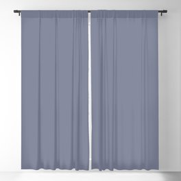 Dunn & Edwards 2019 Trending Colors Your Shadow (Purplish Gray) DE5921 Solid Color Blackout Curtain