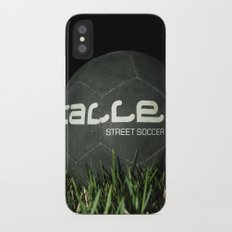 Calle-Swag District. iPhone X Slim Case