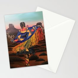 Shaw Dancer #3 Stationery Cards