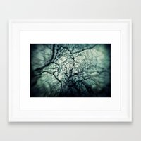 chaos Framed Art Prints featuring Chaos by Sharon Johnstone