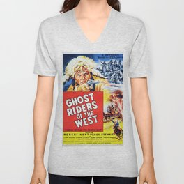 Ghost Riders of The West Unisex V-Neck