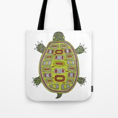 Tiled turtle Tote Bag