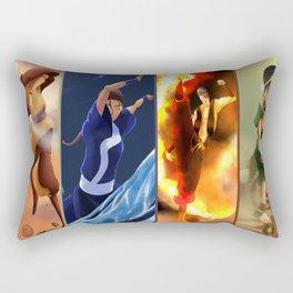 4 nations Rectangular Pillow