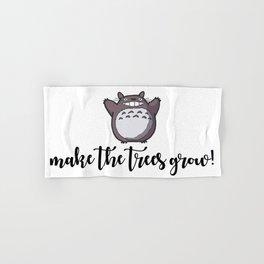MAKE THE TREES GROW! Hand & Bath Towel