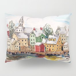 Portsmouth, New Hampshire Pillow Sham