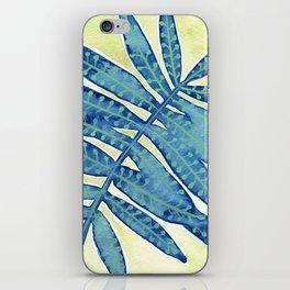 Blue Fern iPhone Skin