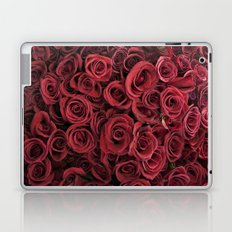 Flower Market 3 - Red Roses Laptop & iPad Skin