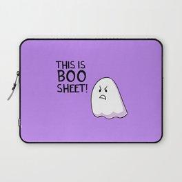 Grumpy Ghost Laptop Sleeve