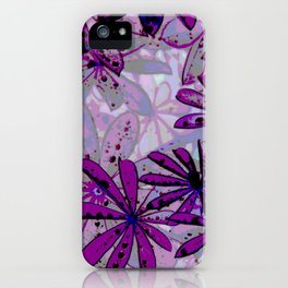 Raindrops IV iPhone Case