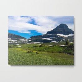 Logans Pass, Glacier National Park Metal Print