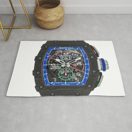 Richard Mille RM11-04 Roberto Mancini Automatic Flyback Watch Rug
