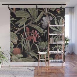 Dark Botanicals (pillow variant) Wall Mural