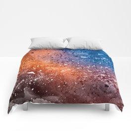 Vibrant Acrylic Texture Comforters