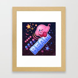 Kirby Beam Framed Art Print