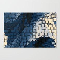 Blockage Canvas Print