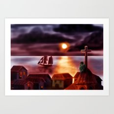A New World Art Print