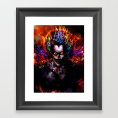 death god Framed Art Print